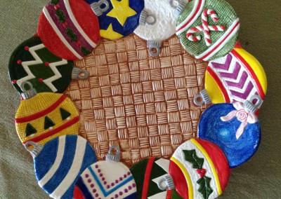 Plate-Xmas-Ornaments